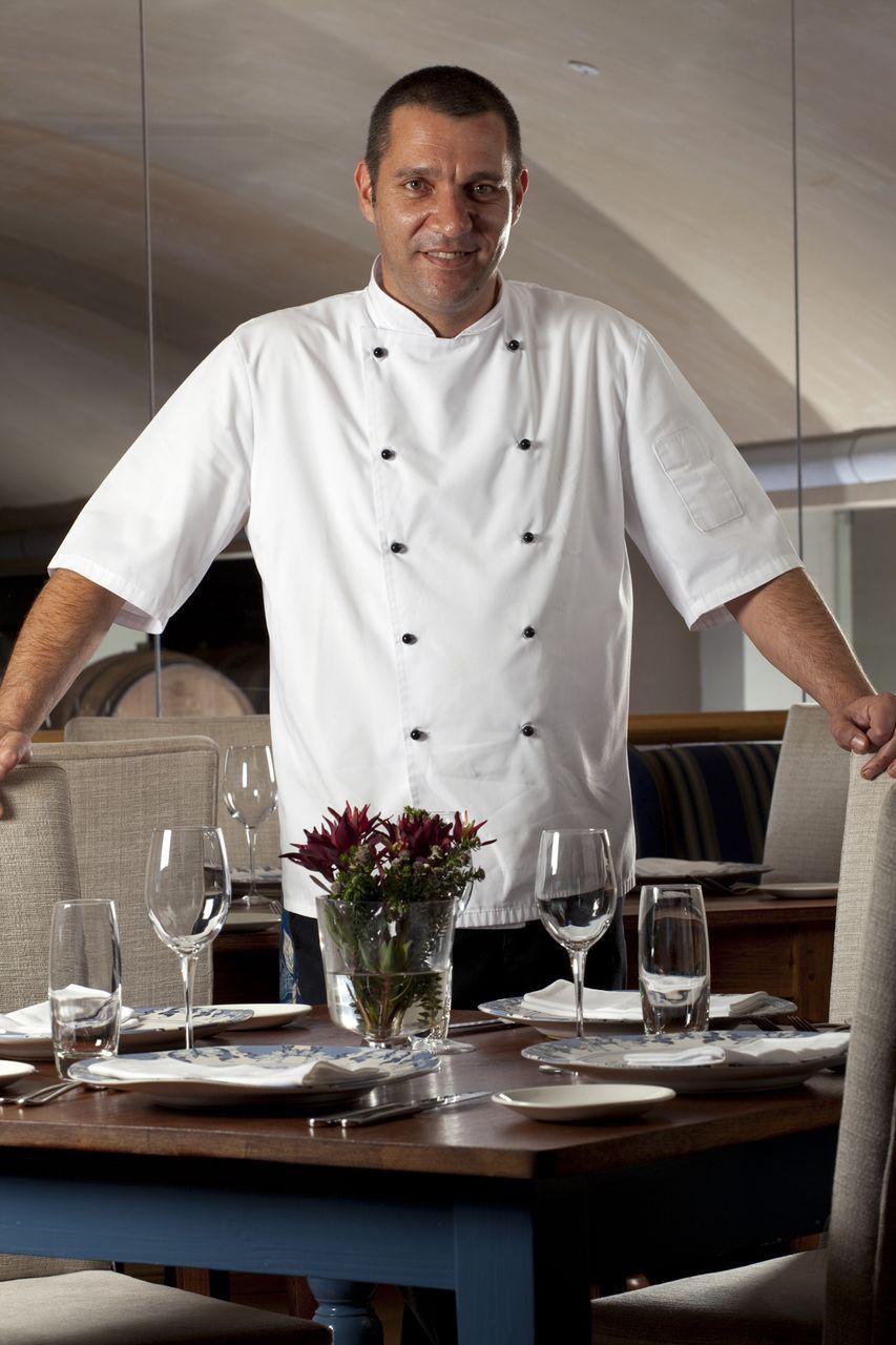 Ian Bergh, Chef at De Grendel Restaurant