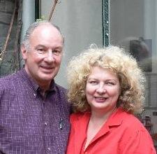 Cornelis with artist sister Marlene Dumas