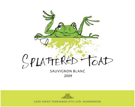 Splattered toad – a new cult wine?