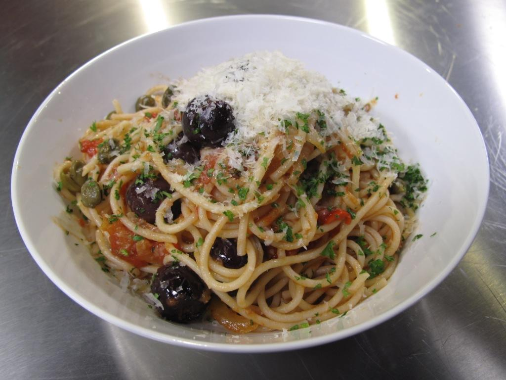 Spaghetti in the style of naples