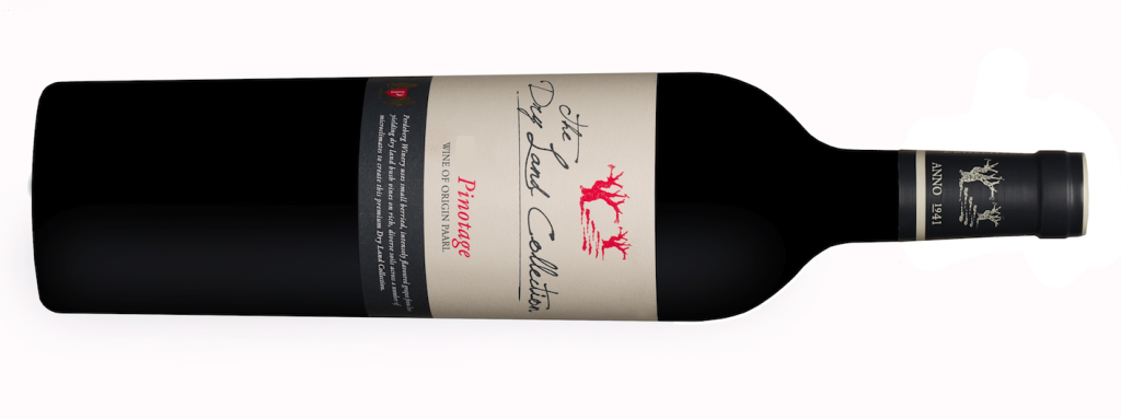 The Perdeberg Dry Land Collection Pinotage Premium series of wines