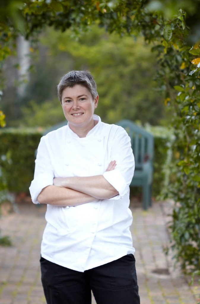 Delia Harbottle Executive Chef at The Conservatory