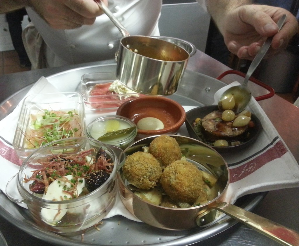 Platter for two, a lesson in fine Tapas Changes every day