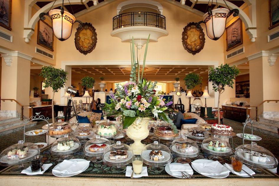 Table Bay High Tea Table