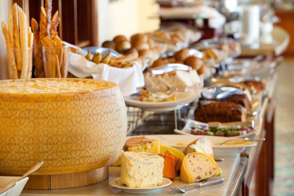 The fabulous Breakfast Buffet in The Atlantic
