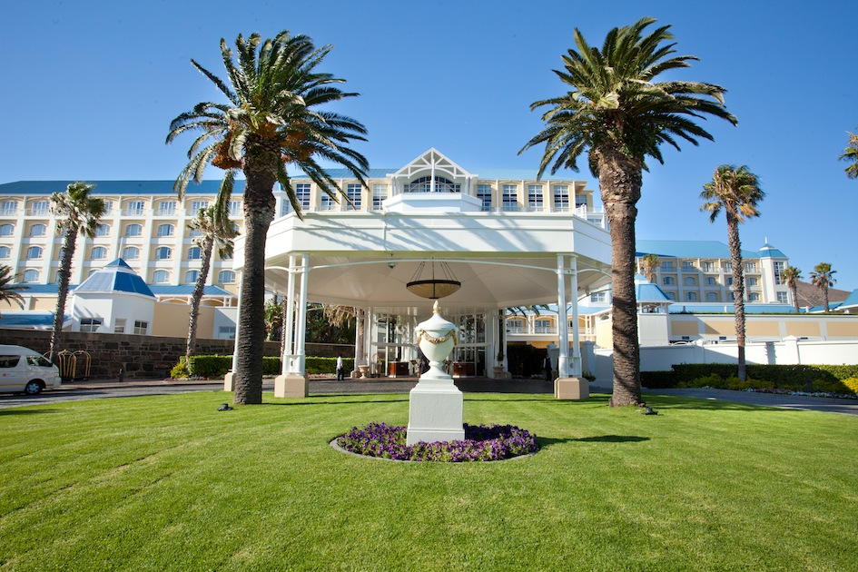 A View from the Front of The Table Bay Hotel