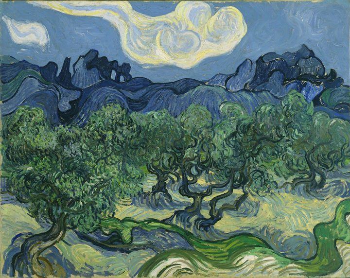 Olive Orchard Vincent van Gogh