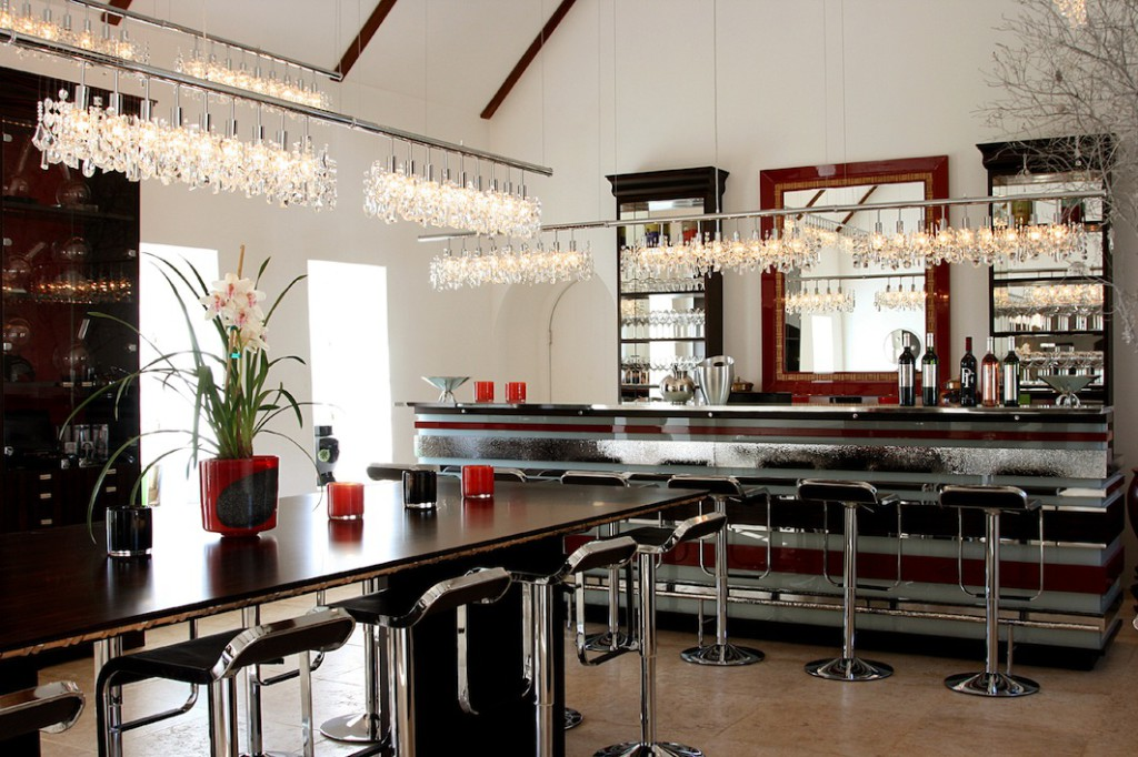 The Tasting Room, elegant modern interior in a classic Cape Dutch building
