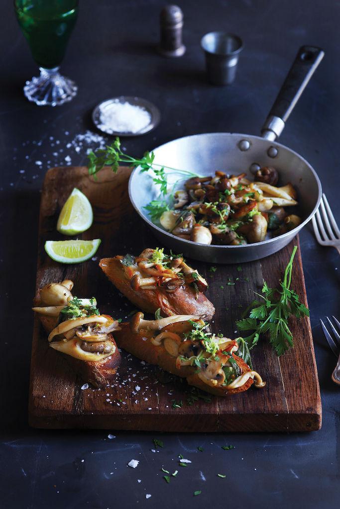 Luisa Farelo Hayes's Mushrooms on Toast
