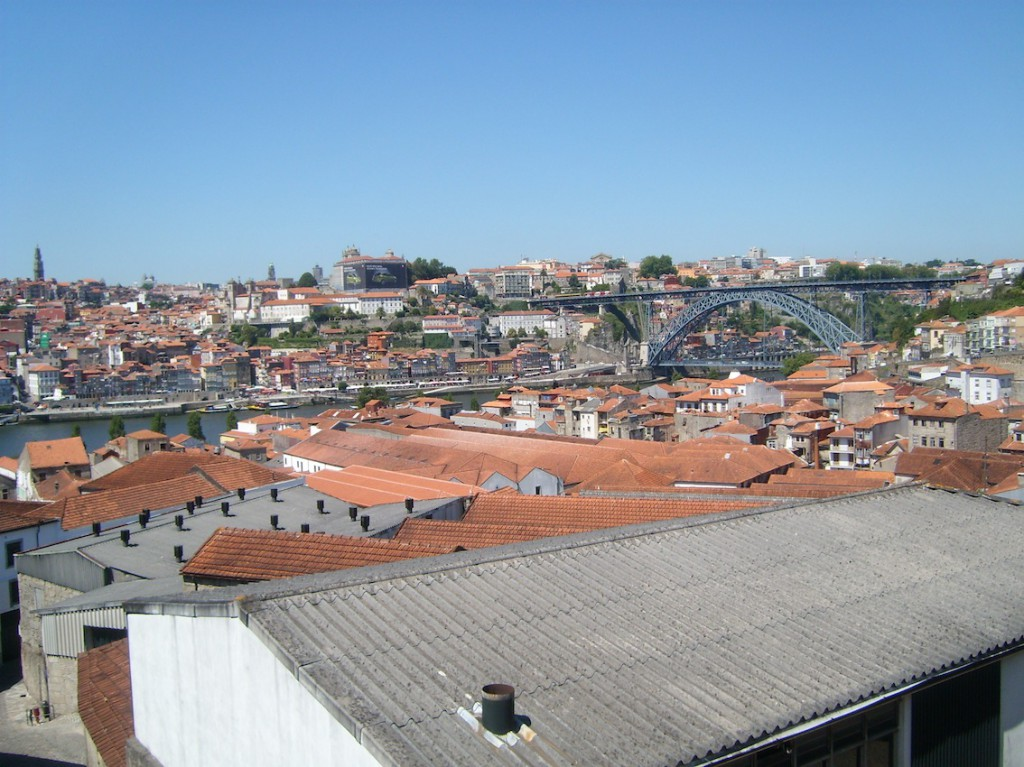 Red Roofs of the Port Lodges in Oporto