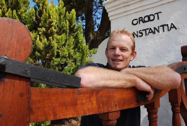 Boela Gerber, Winemaker at Groot Constantia