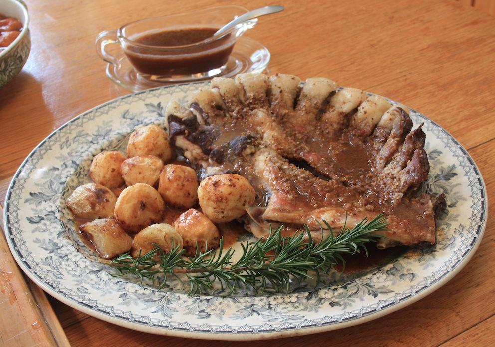 Charlotte le Roux's Roast Lamb Rib