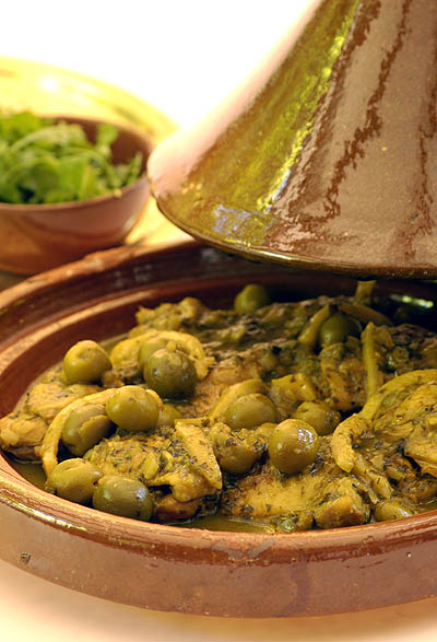 Chicken Tagine with Green Olives & Preserved Lemons – Ina Paarman ...