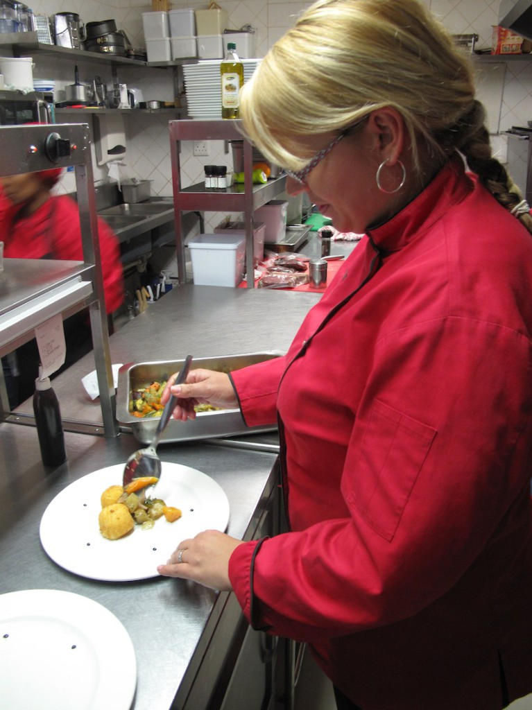 Founding Executive  Chef Nadia Louw-Smith in action