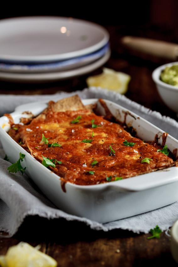Alida Ryder's Vegetarian Enchilada Casserole