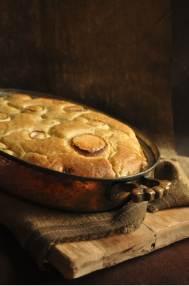 Nina Timm's Venison Pie with Batter Blanky