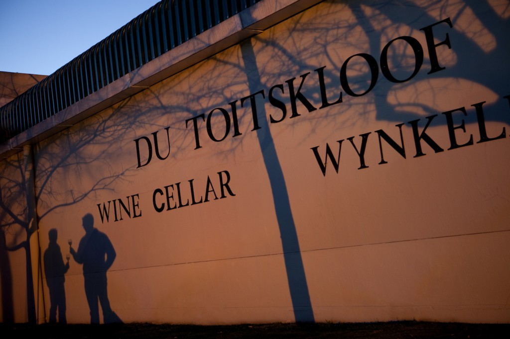 Sunset is story time at Du Toitskloof Winery