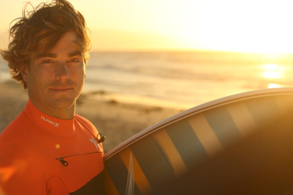 Hayden Quinn, marine biologist,  surfer, cook, author, real dude