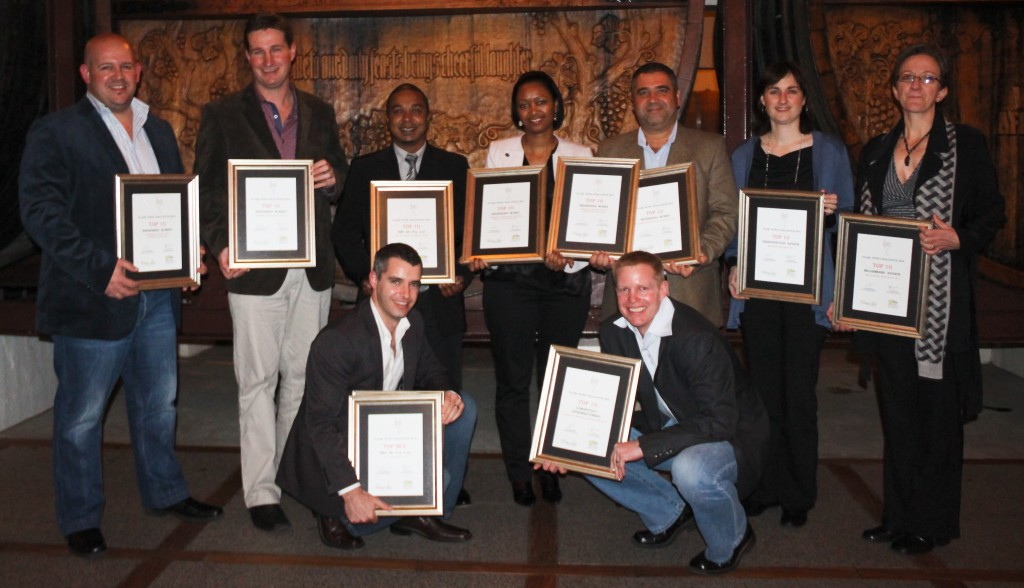 Paarl Wine Challenge - Top 10 Winners 2014
