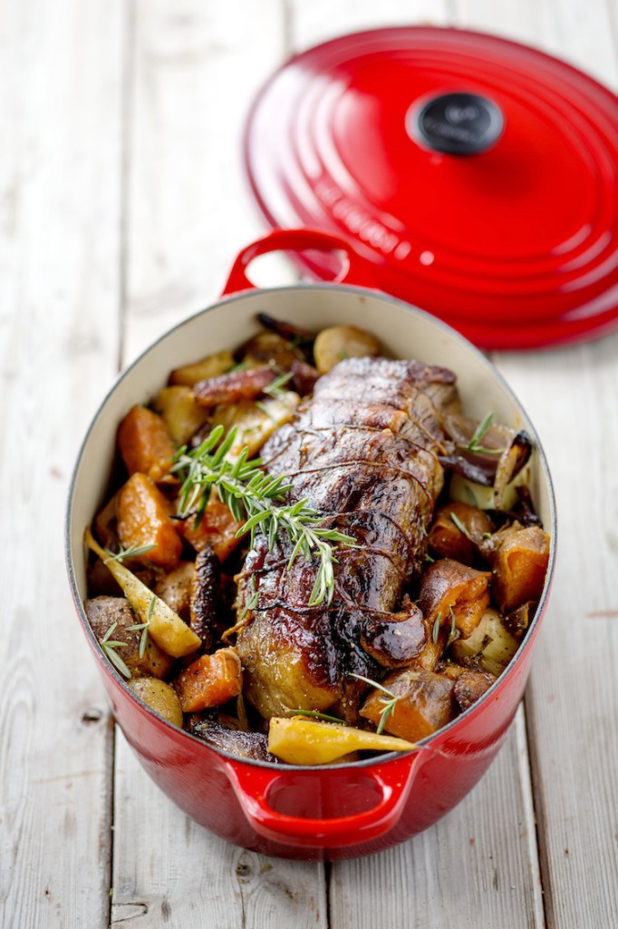 Trussed Beef Pot Roast with Autumn Vegetables