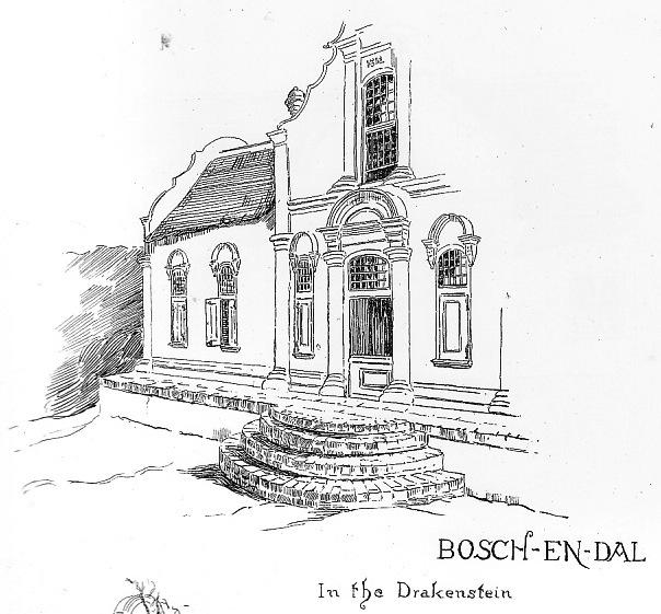 Boschendal Manor House Alys Fane Trotter