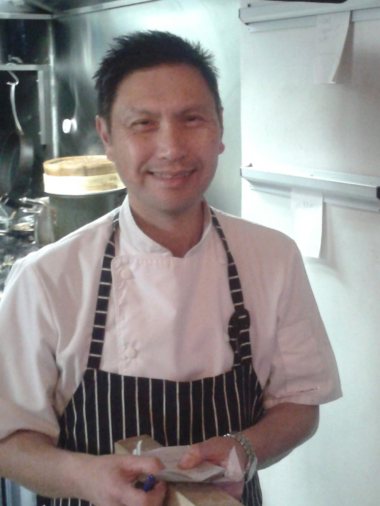 Ed, the owner & Chef of the South China Dim Sum Bar