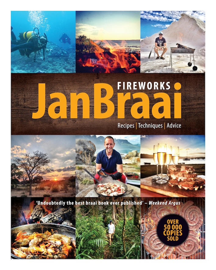 The new edition soft cover Fireworks by Jan Braai