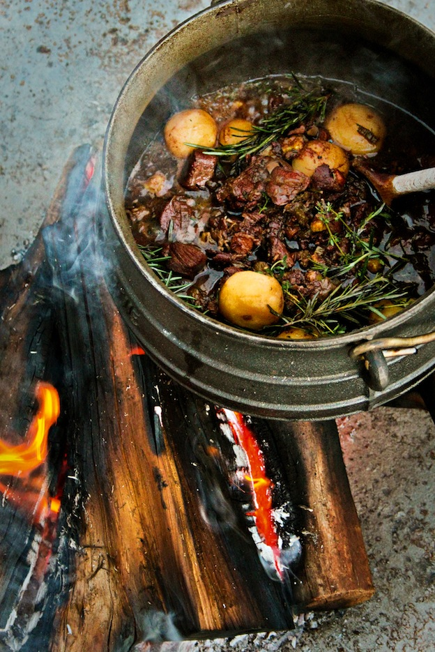 Nico Verster's Savannah to Sea slow-roasted warthog potjie