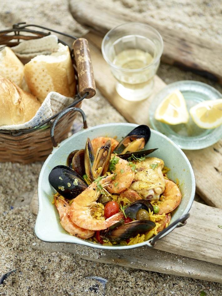 Jan Braai's Seafood Paella