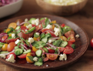 Hatden Quinn's Tomato & Spekboom Salad
