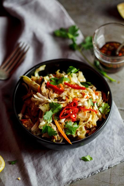 Alida Ryder's Asian Chicken Cabbage Salad