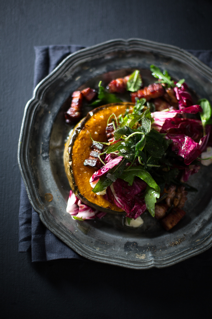 Vicke de Beer's Winter Salad photograph by Charles Russell