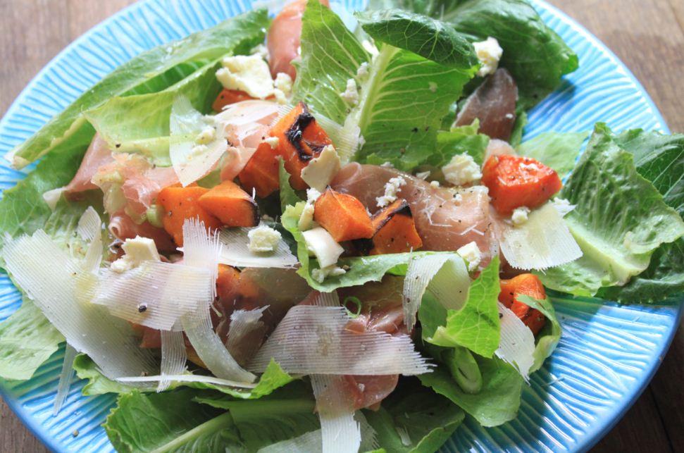 Carey Boucher Erasmus's Butternut & Parma Ham Salad
