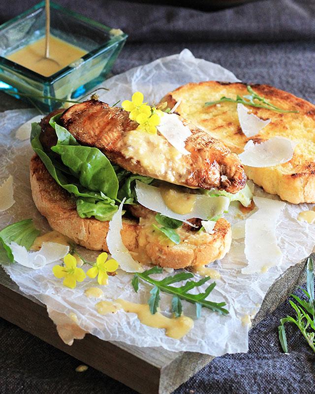 Lizet Hartley's Chicken Caesar Salad Sarmie