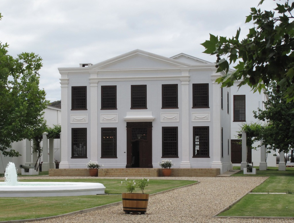 De Wetshof, replica of the Koopmans De Wet House in Cape Town