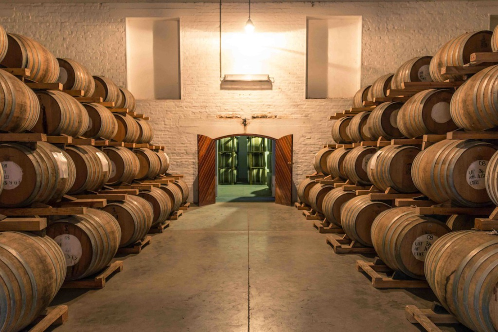 KWV House of Brandy French Oak Barrels