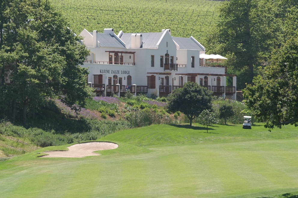 Kleine Zalze Lodge, where you can overnight in comfort
