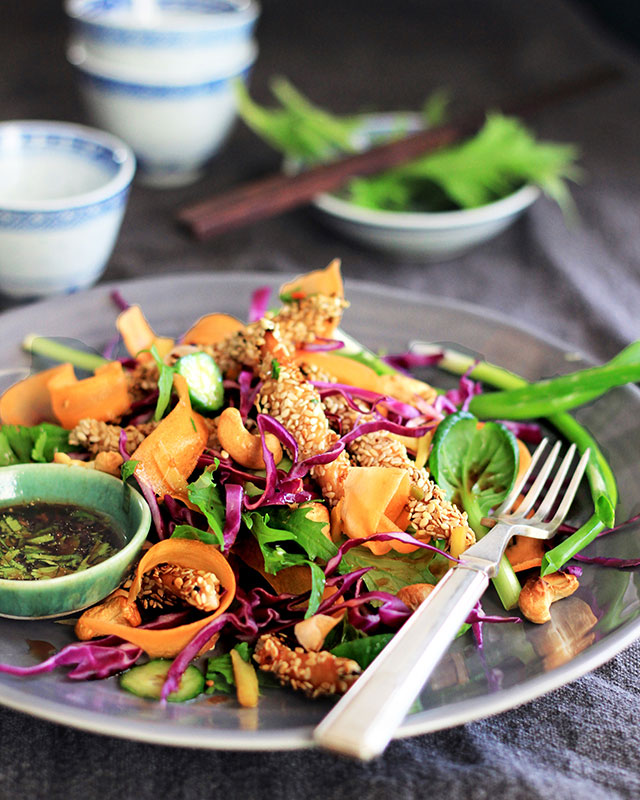 Lizet Hartley's Chicken Salad with an Asian twist
