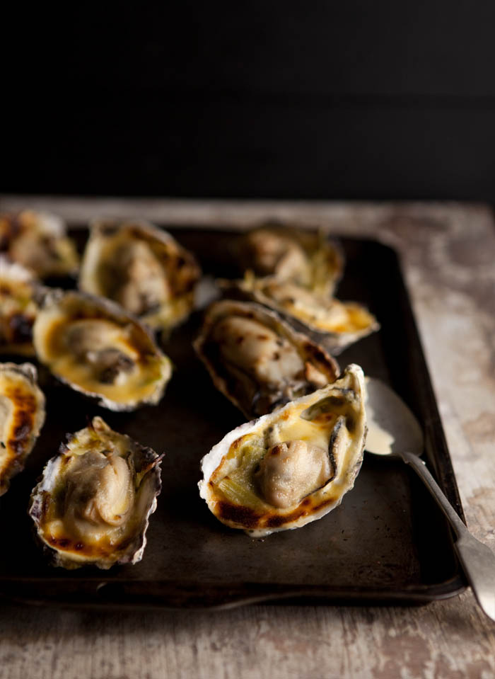 Sam Linsell's Oysters Gratin