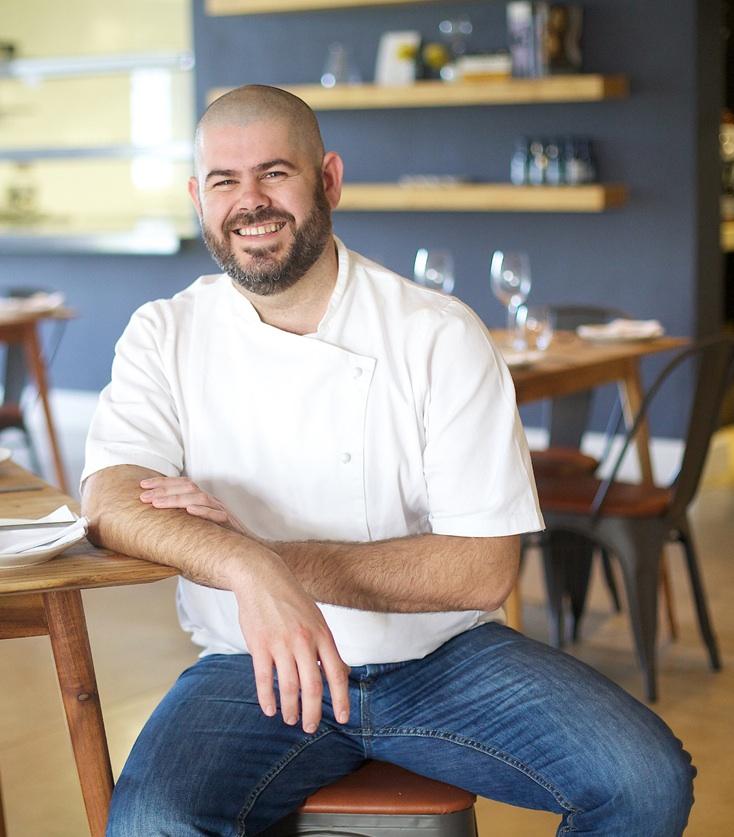 Nic van Wyk Chef Patron of Bistro 13