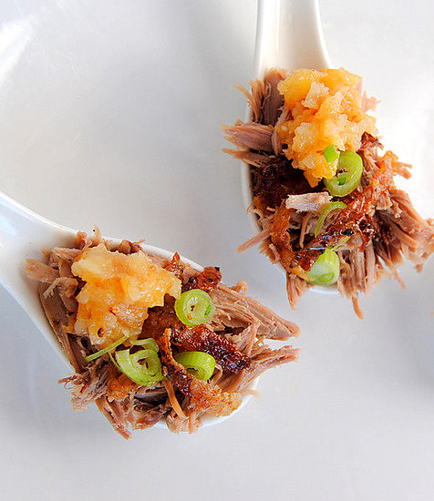 Jane-Anne Hobbs's Shredded Duck With Crisp Skin & Dried-Pear Sauce