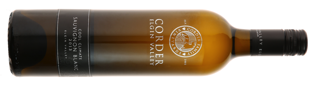 Corder Elgin Valley Cool Climate Sauvignon Blanc 2013