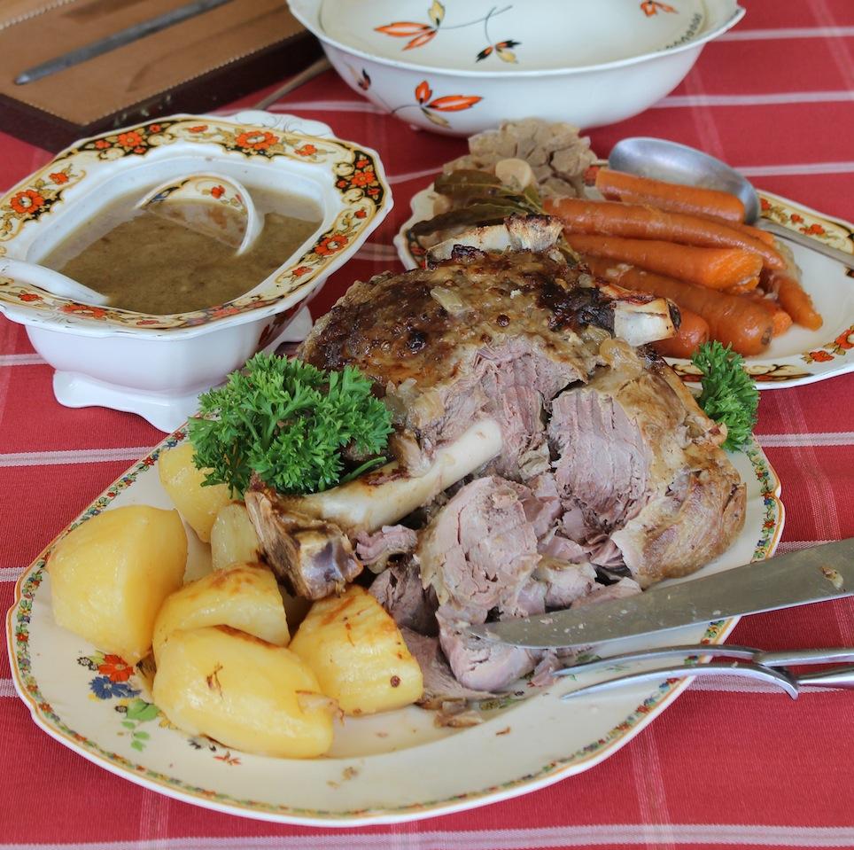 Dine van Zyl's Shoulder of Lamb with Pickled Lemons
