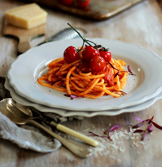 Lizet Hartley's Red Velvet Pasta