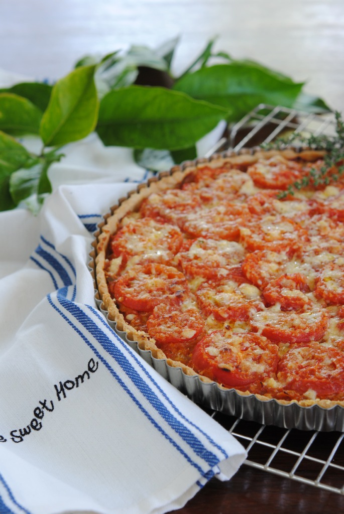 Sophia Lindop's Tomato Tart
