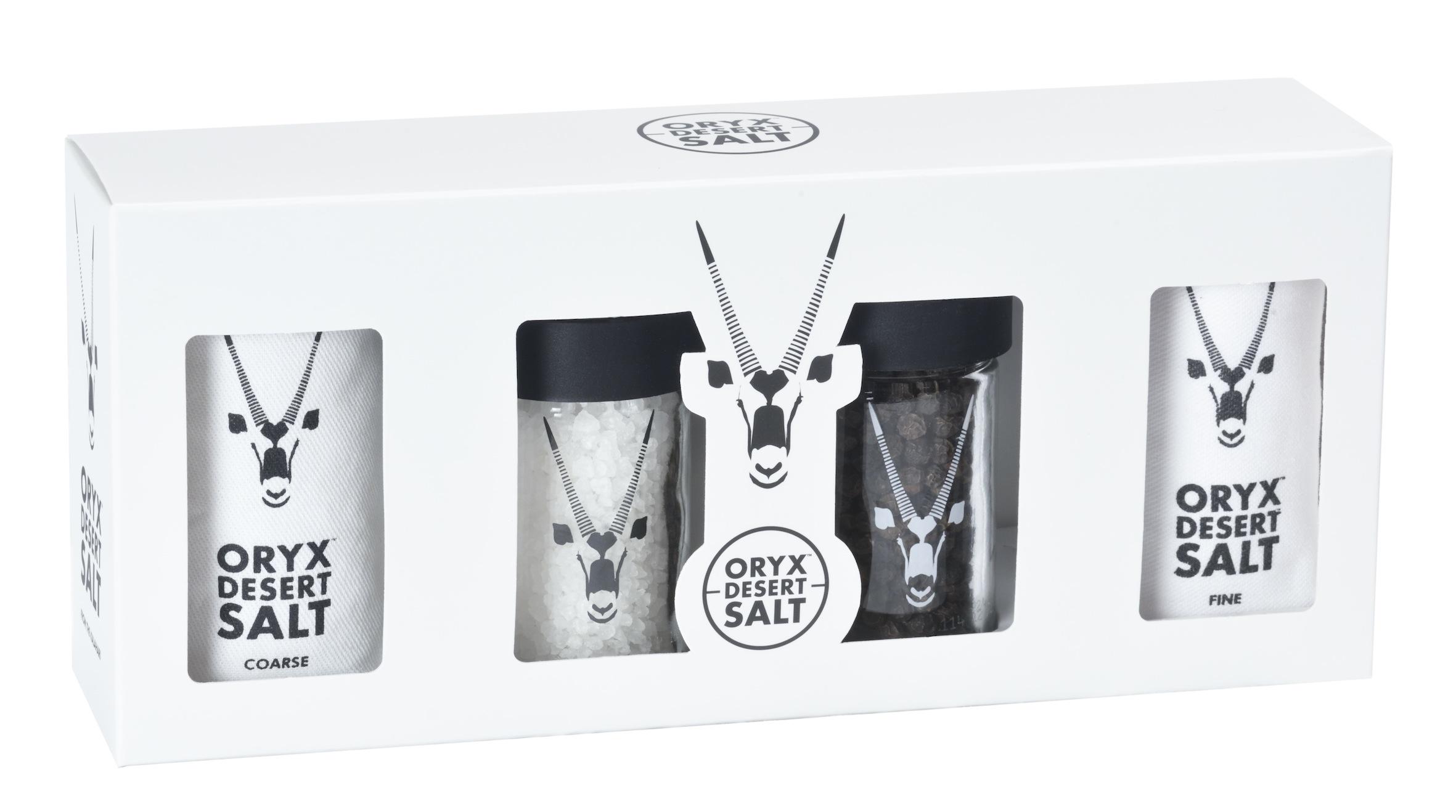 Oryx Desert Salt Gift Packs for Christmas | Michael Olivier