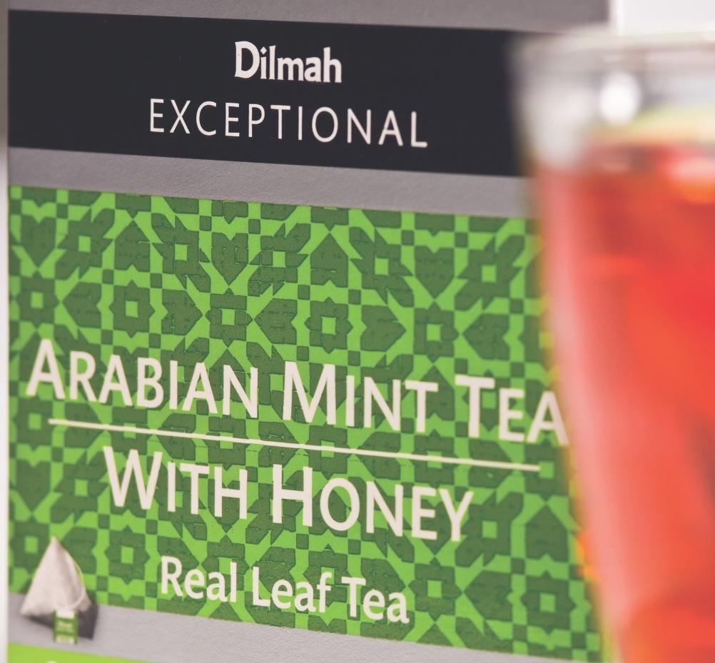 Dilmah Arabian Mint Tea with Honey