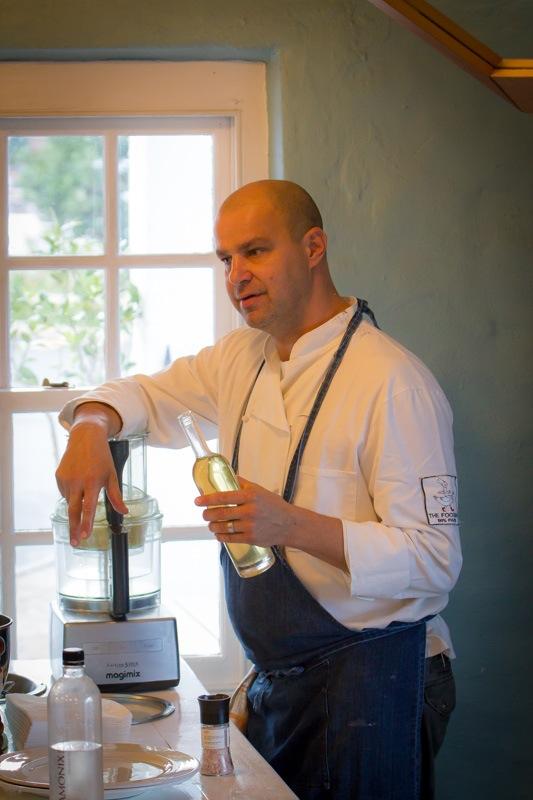 Franck Dangereux at work at The Food Barn