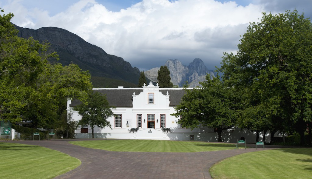 Lanzerac, Stellenbosch's oldest Country House Hotel