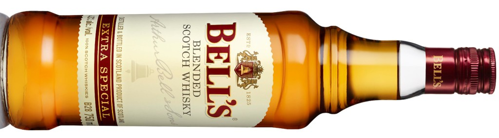 Bell's Blended Scotch Whisky in its attractive new livery